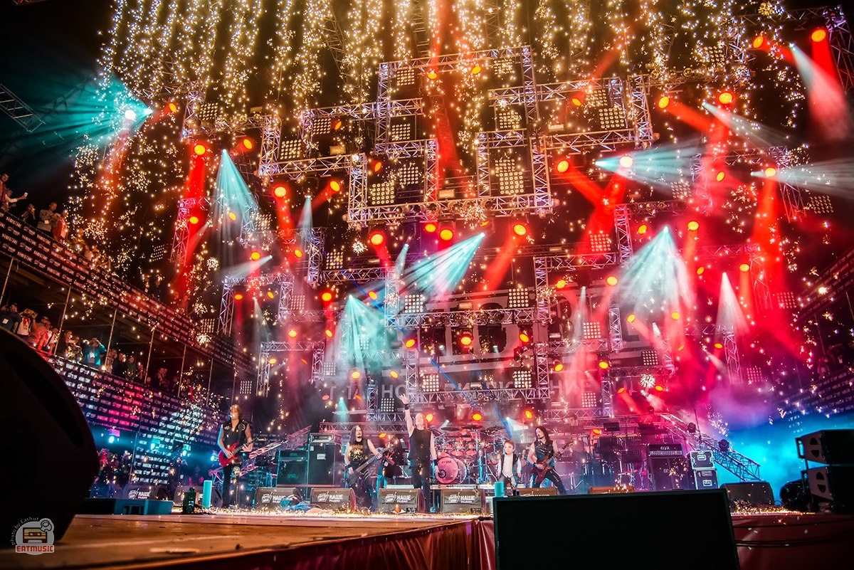 Группа Кипелов на фестивале НАШЕСТВИЕ 2016