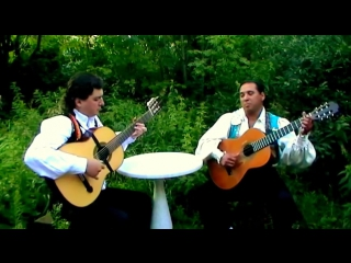 Цыганская гитара - венгерка - пётр янышев и жан соломоденко