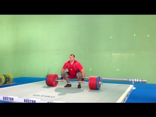 Алексей Ловчев-толчок 270 кг. СК Олимп г Александров.муляж-кадр из фильма Тяжелоатлет