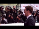 Benedict Cumberbatch on the red carpet of BAFTA 2017