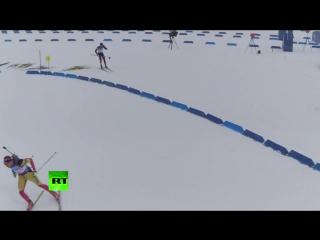 Дрон RT снял соревнования по биатлону на III Всемирных военных играх в Сочи