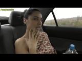 Жгучая сексуальная телочка ласкает себя в автомобиле! Мега прикол! Ржач до слёз!