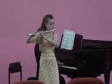 К.В.Глюк, концерт G-dur, 1 ч - Дементьева Александра (солистка оркестра