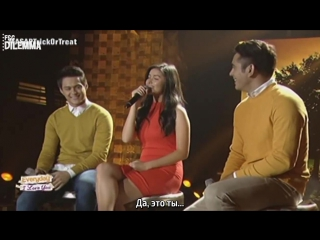 [рус.саб]   Liza, Enrique and Gerald - It Might Be You