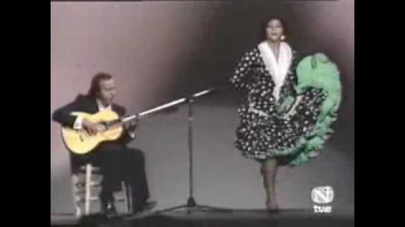 Manuela Carrasco por Soleá a la guitarra Paco Cepero