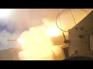 Up-close View: M142 HIMARS Firing