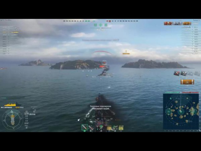 World of warships Мурманск Трава была зеленее Z1ooo World of Warships