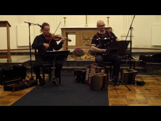 Scottish Smallpipes and Fiddle: The Lasses Bushes Brawly
