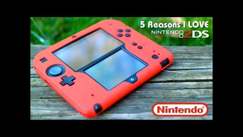 5 Reasons Why I LOVE the Nintendo 2DS | An In-Depth Review
