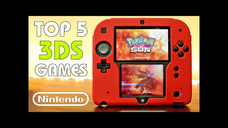 My Top 5 FAVORITE Nintendo 2DS3DS Games of All Time!