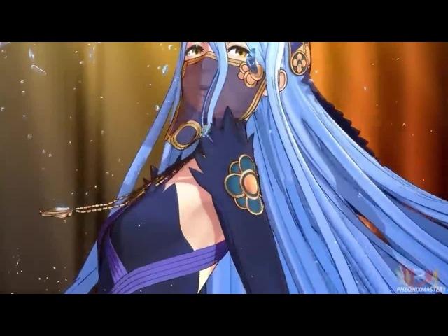 Fire Emblem Fates - Azura's Dance Cutscenes - Real HD@60FPS (EnglishJapanese) (\_/) animeears (\_/)