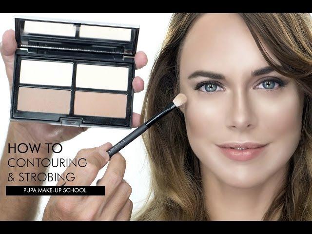 Tutorial Make Up Contouring Strobing READY4SELFIE Palette | Giorgio Forgani per PUPA Milano