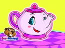 I'm a Little Teapot | Kindergarten Kids Nursery Rhymes Songs, Babies, Toddlers, Preschool