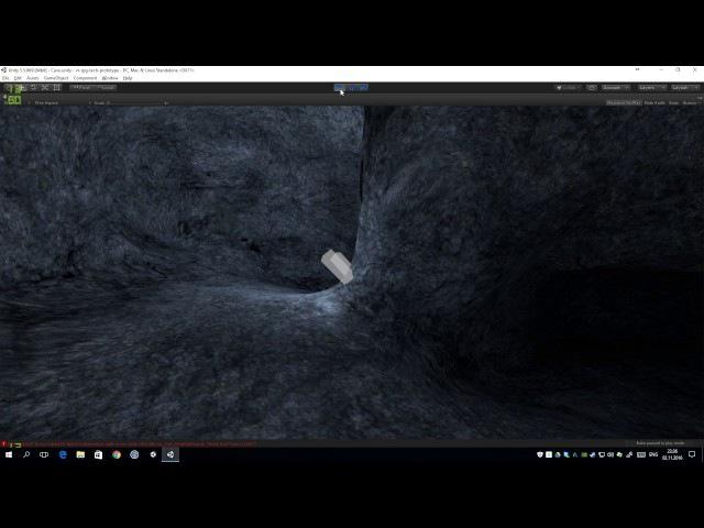 Demon sword protoype level lighting.