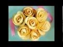 Бисквитные розы рецепт к 8 марта