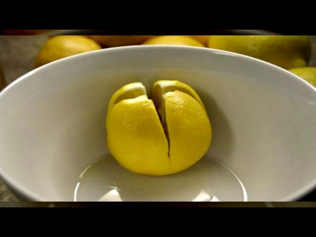 ЭТО СПАСЕТ ВАШУ ЖИЗНЬ Разрежьте лимон и держите его в вашей спальне