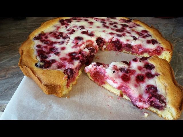 Вишнёвый пирог пай с вишнейcherry pie