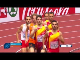 800m Men FINAL - European Athletics Indoor Championships Belgrade 2017