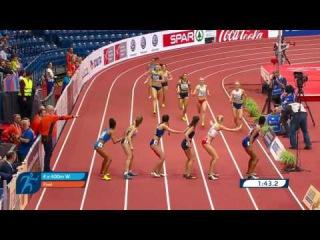 4x400m Relay Women FINAL - European Athletics Indoor Championships Belgrade 2017