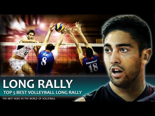 TOP 5 Best Volleyball Long Rally