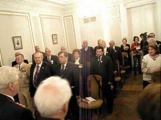 24 3 2012 Международный славянский Трибунал объявил предателя Михаила Горбачёва вн...