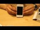 Обзор электрошокера IPHONE 4S Купить шокер Айфон, шокер в виде мобильного телефона