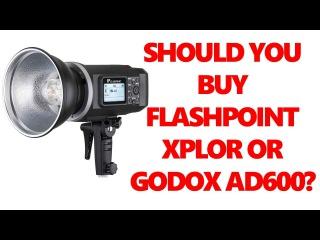 Unboxing Adorama Flashpoint Xplor TTL 600 Flashpoint vs Godox