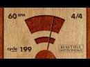 60 BPM 4/4 Wood Metronome HD