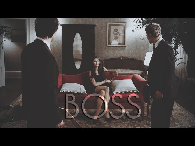 Katherine Pierce | BOSS [The Vampire Diaries] 100 sub