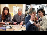 Best Moments Kate Middleton With Her Father In Law Prince Charles