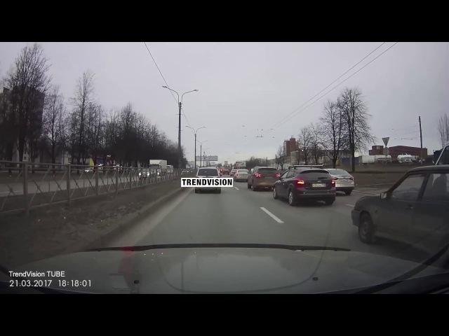 Cтрашная авария в Санкт-Петербурге
