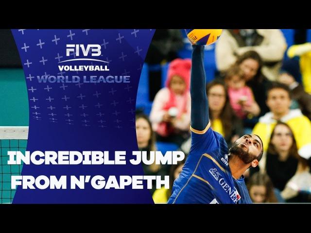 Incredible jump from N'Gapeth