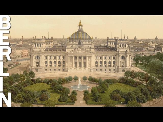 Berlin und Potsdam 1890 in Farbe! Seltene Illustrationen aus US Archiv gefunden