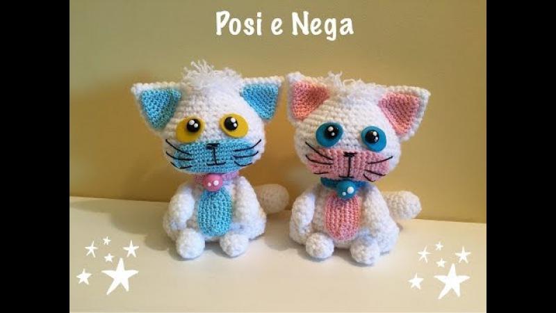 Gatto Posi e Nega Amigurumi