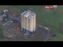 A giant building implosion in Australia goes wrong