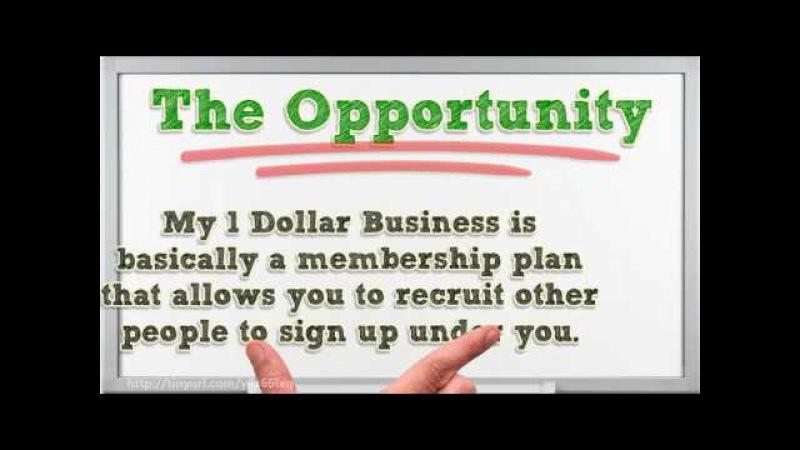My 1 Dollar Business Review – Recruiting Based Program By Steve Gresham!
