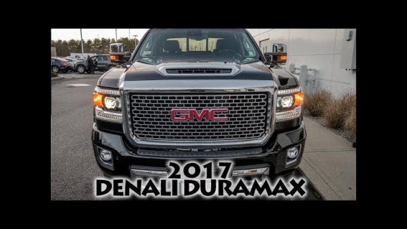 2017 Sierra Denali 2500HD Duramax Diesel - First Look!