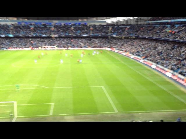 Robin Van Persie Injury Time Winner V Man City at Etihad Stadium Final Whistle, 9th December 2012
