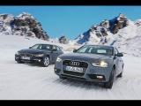Audi Quattro vs BMW xDrive in Snow