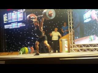 Kianoush Rostami (85kg) - Fajr Cup - Tehran - Iran 175-220 world record C&J and total