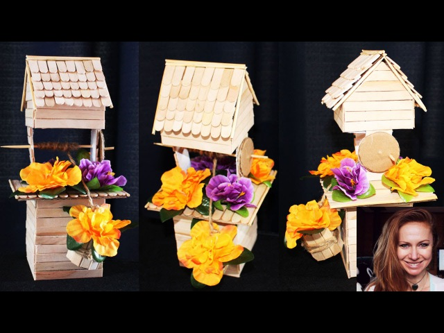 DIY Creative Ways to Reuse / Recycle a box to make a well to decorate your home