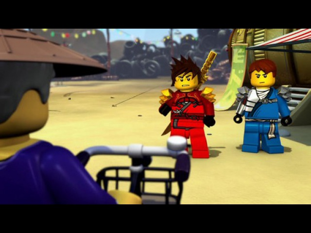 LEGO Ниндзяго Мастера Кружитцу 1 сезон 13 серия