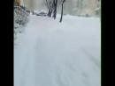Весенний майский снежок