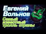 Самый известный тролль страны — Евгений Вольнов