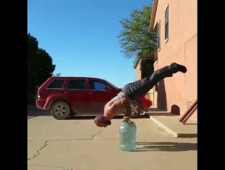 Тренировка на бутылках
