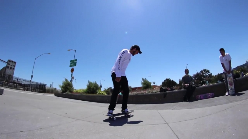 BRAILLE STREET SKATING MISSION - SAN FRANCISCO SPOT