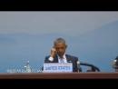 Вот это да Президент США Барак Обама уснул на открытии саммита G20 в Китае.