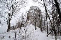 06 января 2017 - Самарская область: Утёс Шелудяк зимой