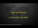 Сommon phrases English and Spanish