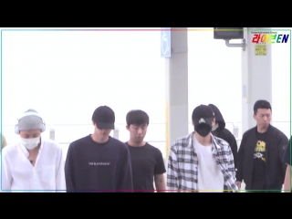 170501 BTS at Incheon Airport on their way to Manila